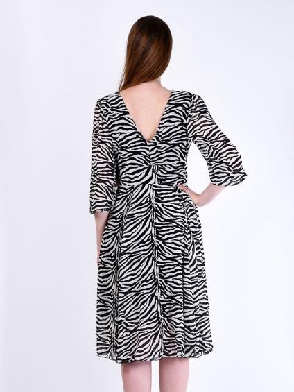 Платье мод. 1715-2 цвет Зебра