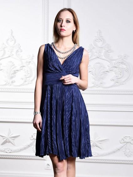 Платье мод. 1715 цвет Синий