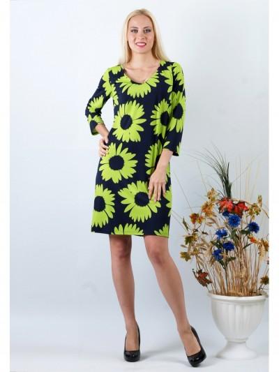 Платье мод. 1755-1 цвет Зеленый