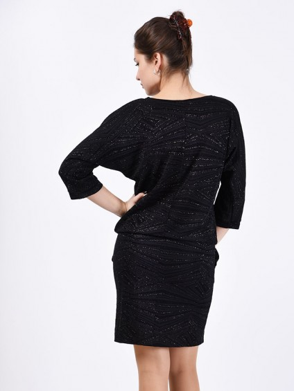 Платье мод. 1766 цвет Черный