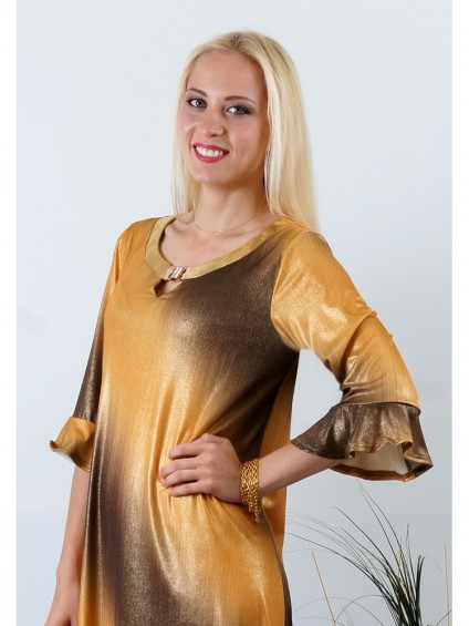 Платье мод. 1777 цвет Золото