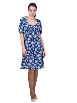Платье мод. 1791 цвет Синий