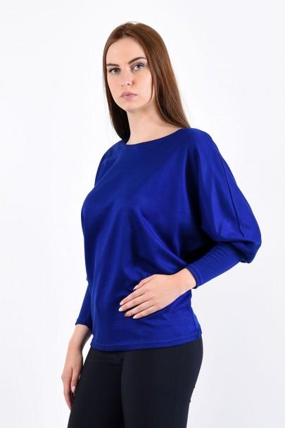 Блуза мод. 1817 цвет Васильковый