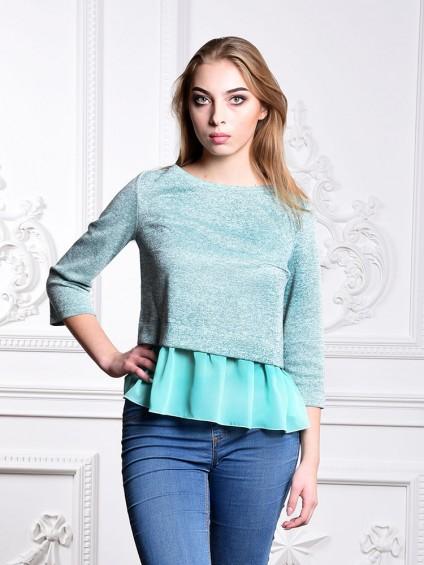 Блуза мод. 1819 цвет Мятный
