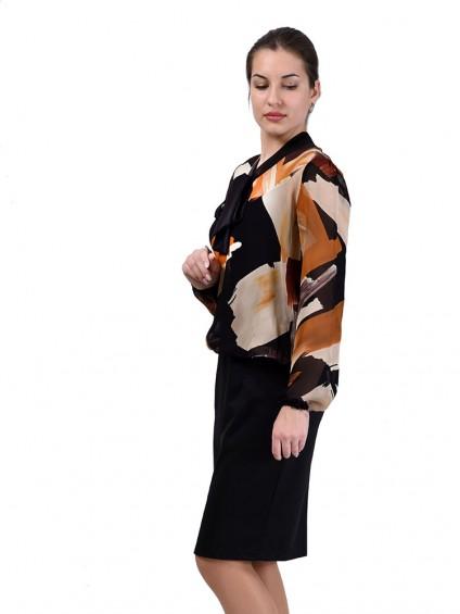 Платье мод. 1828 цвет Бежевый