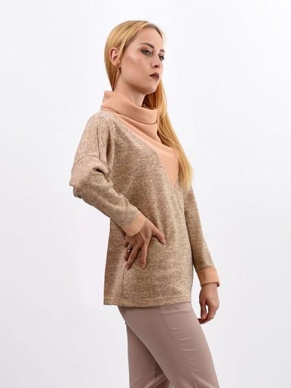 Блуза мод. 1836 цвет Бежевый