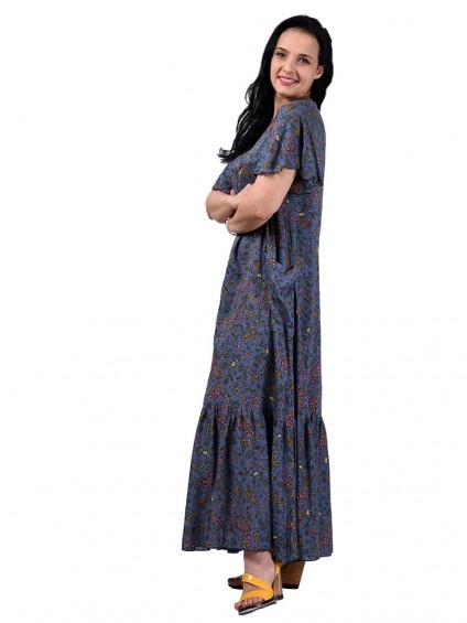 Платье мод. 2701-4 цвет Серый