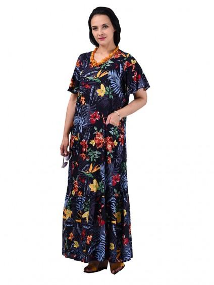 Платье мод. 2701-4 цвет Синий