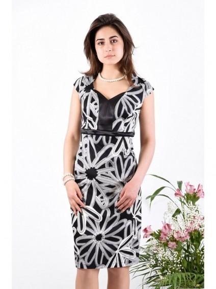 Платье мод. 3413-1 цвет Черный