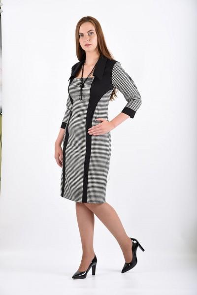 Платье мод. 3414 цвет Черный