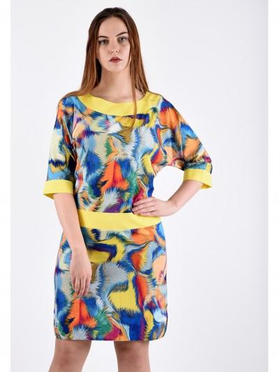 Платье мод. 3426 цвет Голубой