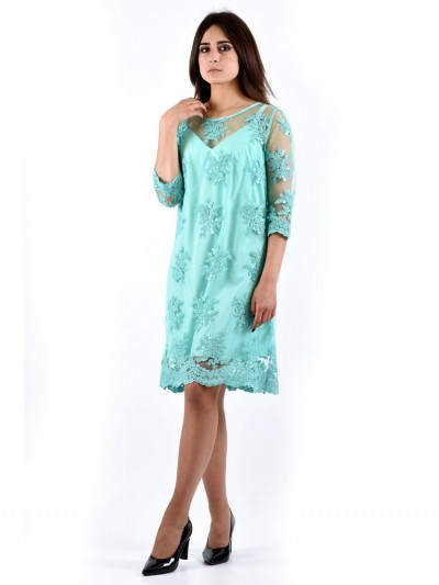Платье мод. 3435 цвет Мятный