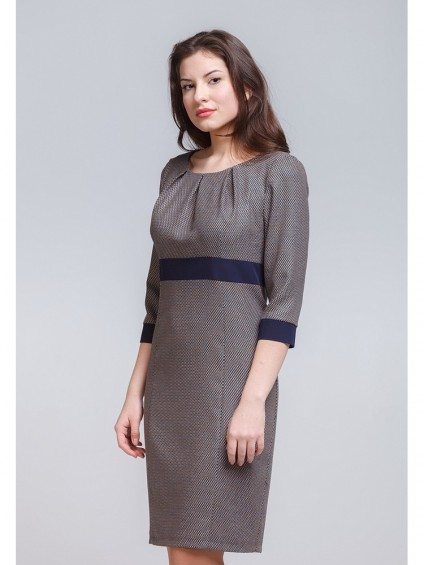 Платье мод. 3438 цвет Горчичный