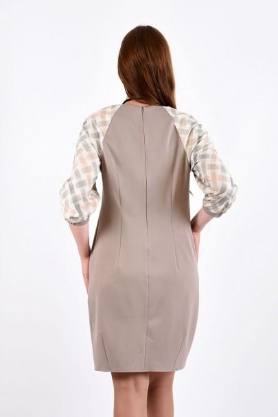 Платье мод. 3440 цвет Бежевый