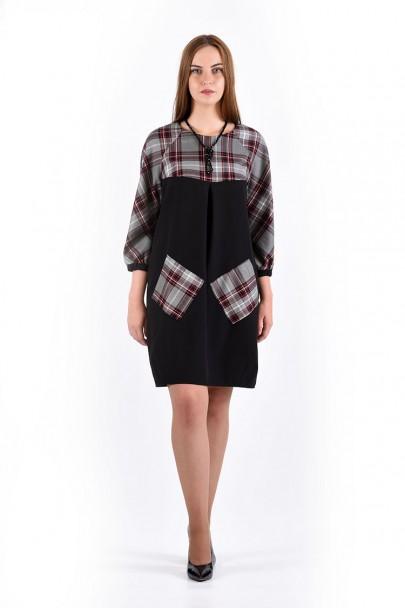 Платье мод. 3440 цвет Черный