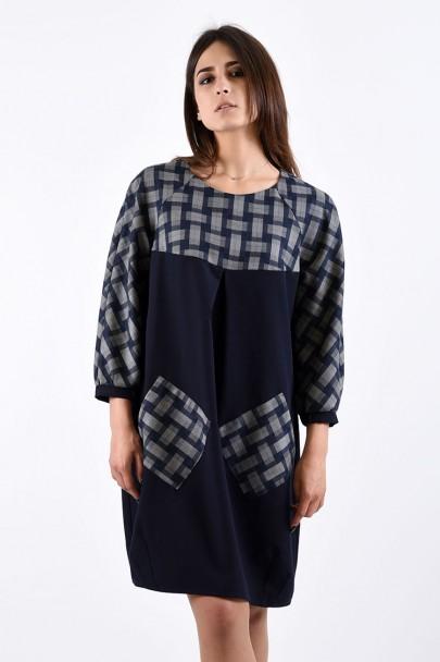 Платье мод. 3440 цвет Синий