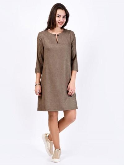Платье мод. 3445 цвет Шоколад