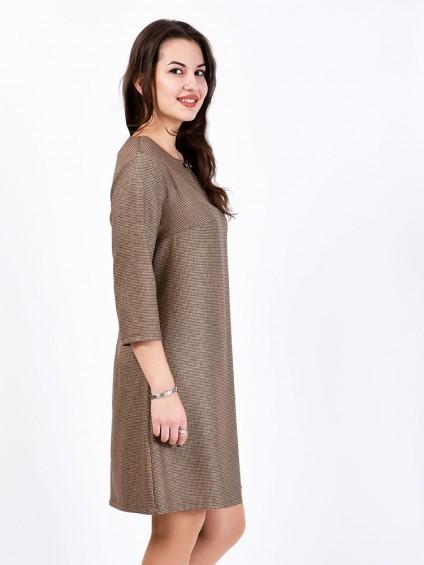 Платье мод. 3445 цвет Шоколадный