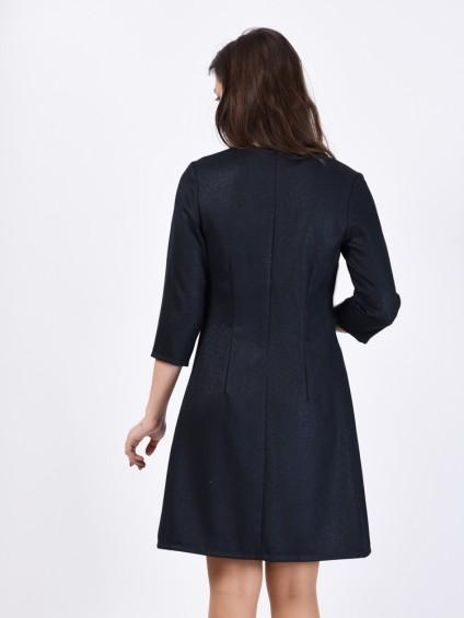 Платье мод. 3445 цвет Темно-синий