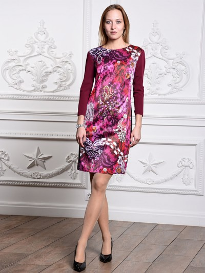 Платье мод. 3447 цвет Розовый