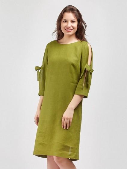 Платье мод. 3448 цвет Зеленый