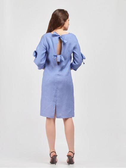 Платье мод. 3448 цвет Сиреневый