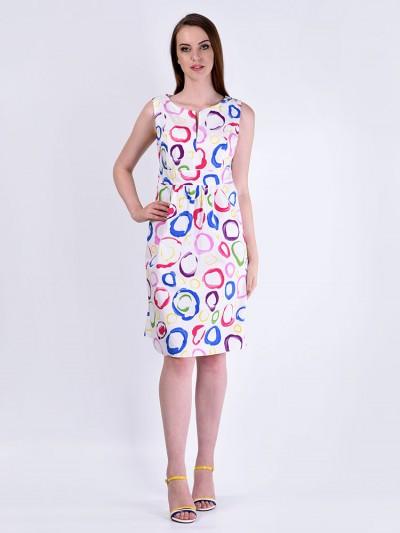Сарафан мод. 3449-2 цвет Розовый