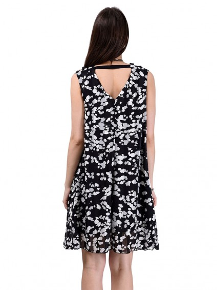 Платье мод. 3450 цвет Черный