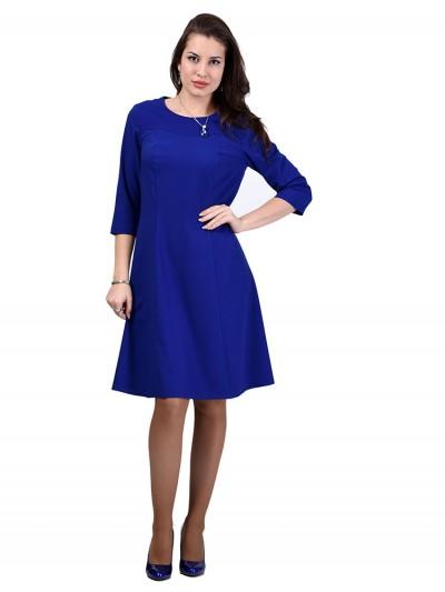 Платье мод. 3452 цвет Васильковый
