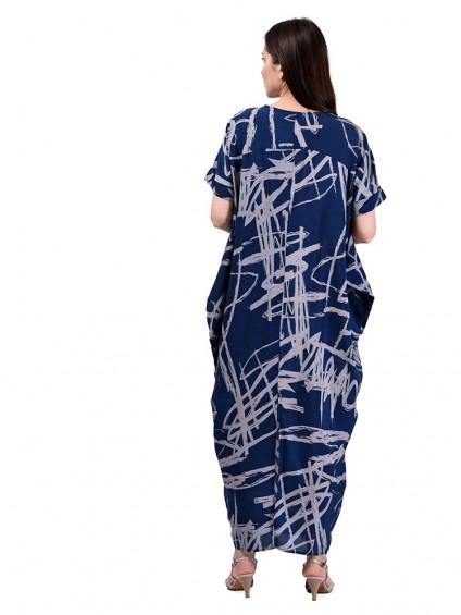 Платье мод. 3457 цвет Синий