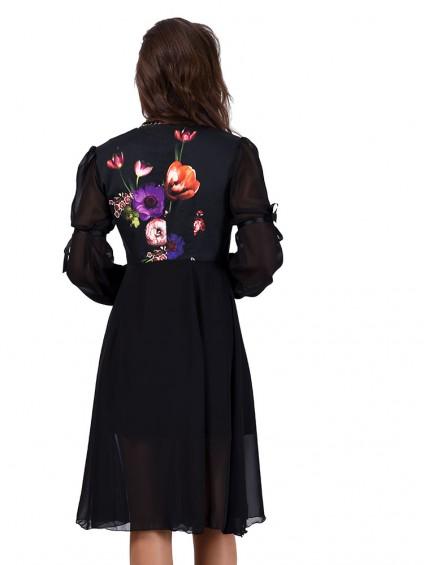 Платье мод. 3465 цвет Черный