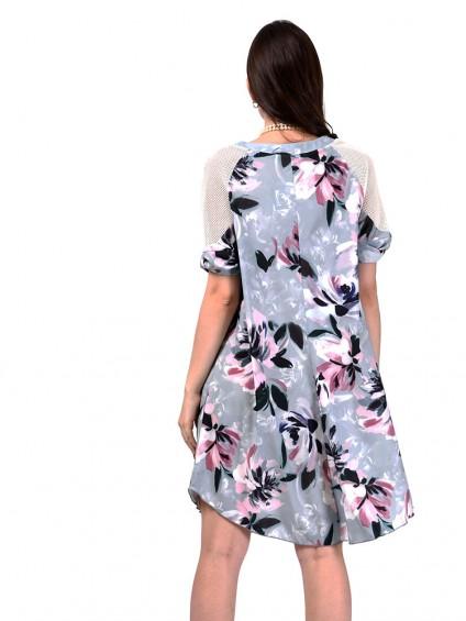 Платье мод. 3466 цвет Мятный