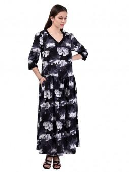 Платье мод. 3469 цвет Черный