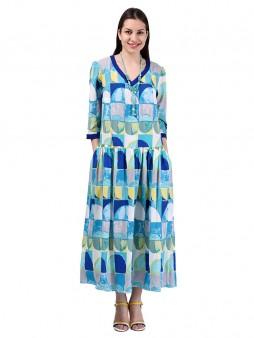 Платье мод. 3469 цвет Мятный