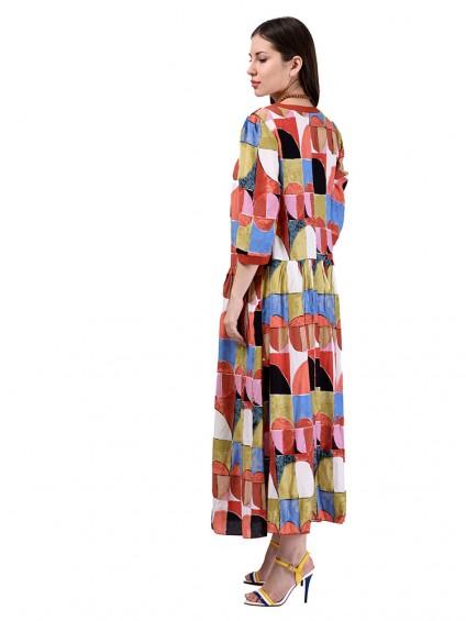 Платье мод. 3469 цвет Терракот