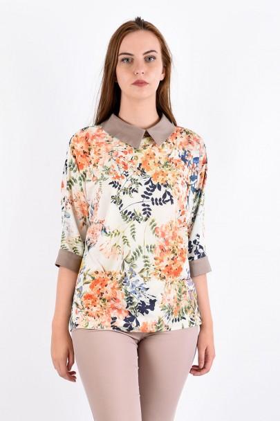 Блуза мод. 3502 цвет Бежевый