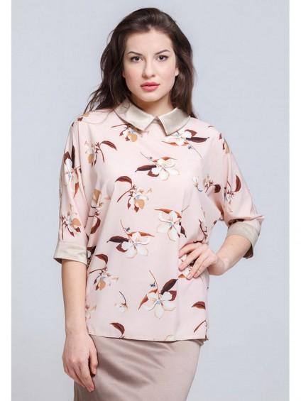 Блуза мод. 3502 цвет Розовый