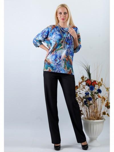 Блуза мод. 3504 цвет Синий