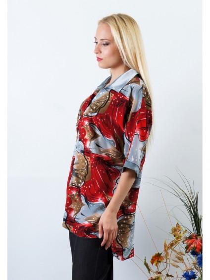 Блуза мод. 3506 цвет Красный