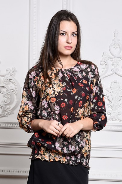 Блуза мод. 3511 цвет Коричневый