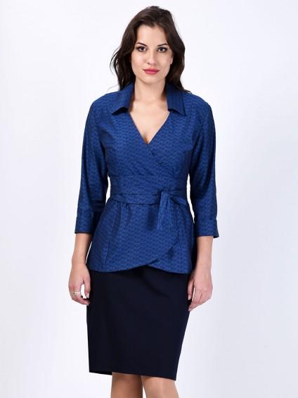 Блуза мод. 3515 цвет Синий