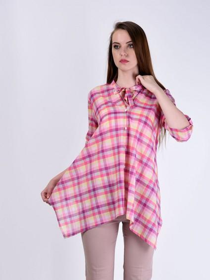 Блуза мод. 3516 цвет Розовый