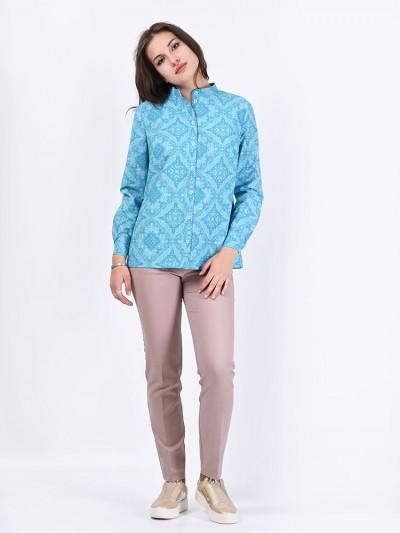 Блуза мод. 3518 цвет Бирюзовый