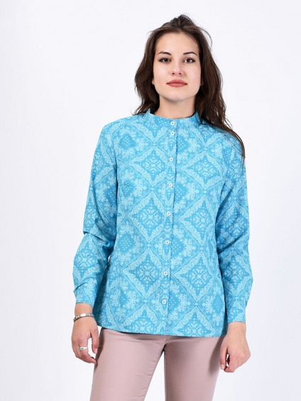 Блуза мод. 3518 цвет Бирюза