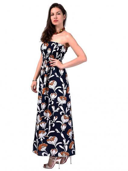 Сарафан мод. 3708 цвет Темно-синий
