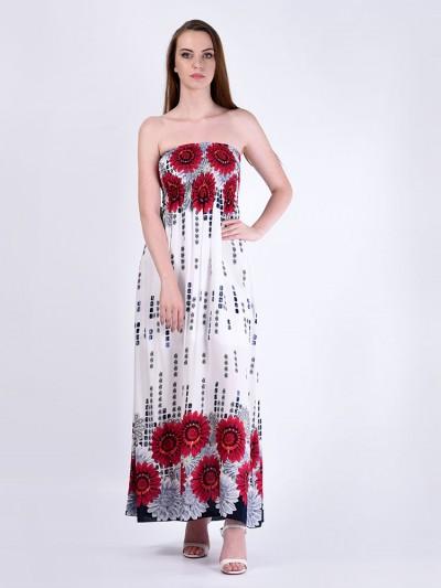 Сарафан мод. 3708 цвет Красный