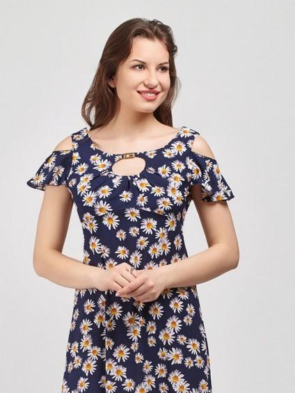 Сарафан мод. 3712-1 цвет Синий