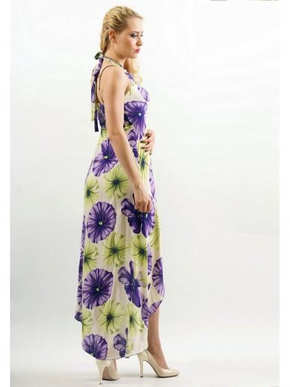 интернет магазин женской одежды,Сарафан мод. 3716 Фиолетовый цвет,женская одежда оптом и в розницу