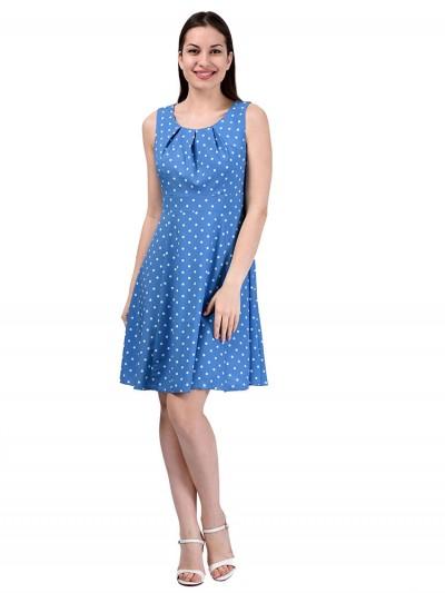 Платье мод. 3721 цвет Голубой