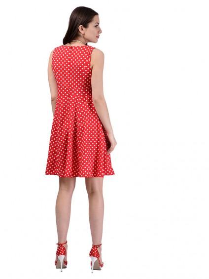 Платье мод. 3721 цвет Красный